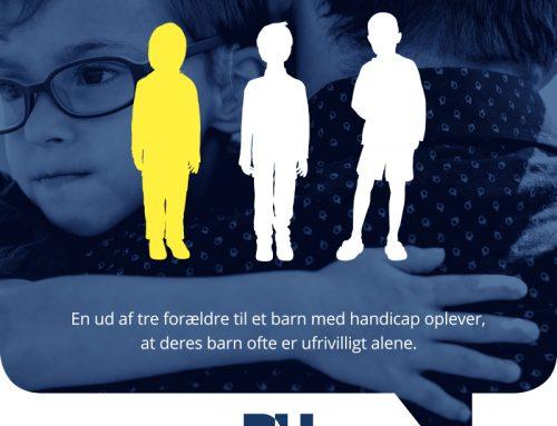 3. december 2019 er Handicapdag og årets tema er børn, unge og fællesskaber