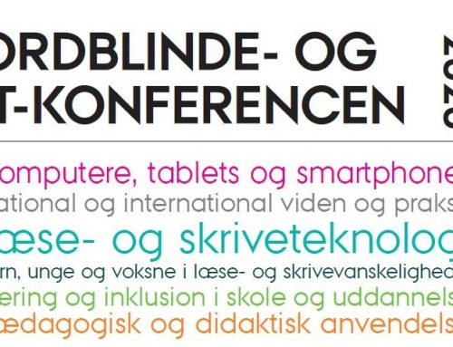 Ordblinde og IT konference 2020