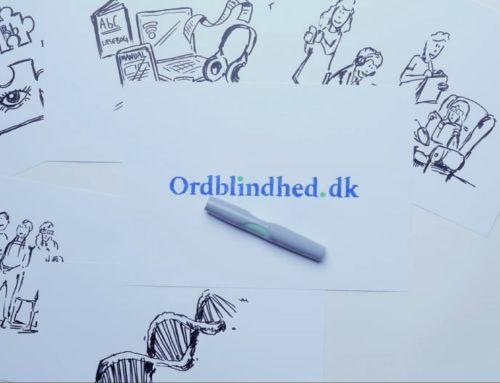 Lancering af www.ordblindhed.dk – hele Danmarks ordblindeportal