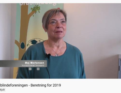Ord fra formanden – Året 2019 og info om årsmødet i 2021